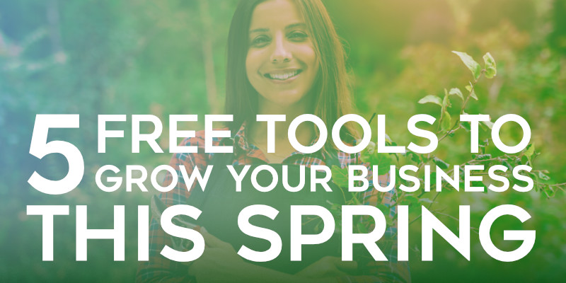 5 tools to grow your business online this spring